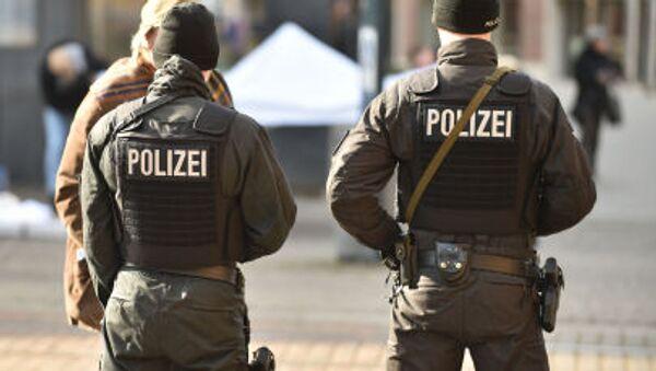 Němečtí policisté - Sputnik Česká republika