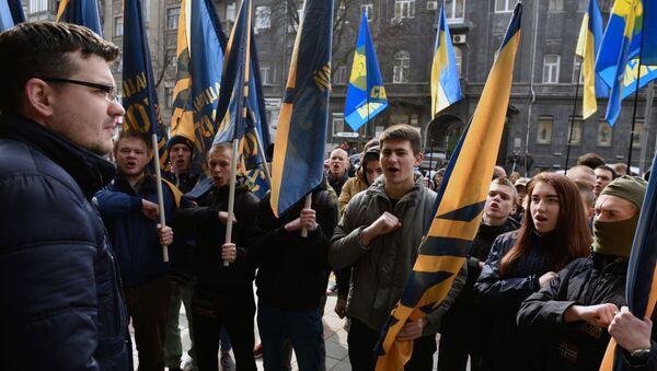 Ukrajinští nacionalisté - Sputnik Česká republika
