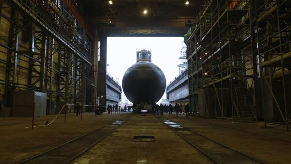 Ponorka Novorossijsk - Sputnik Česká republika