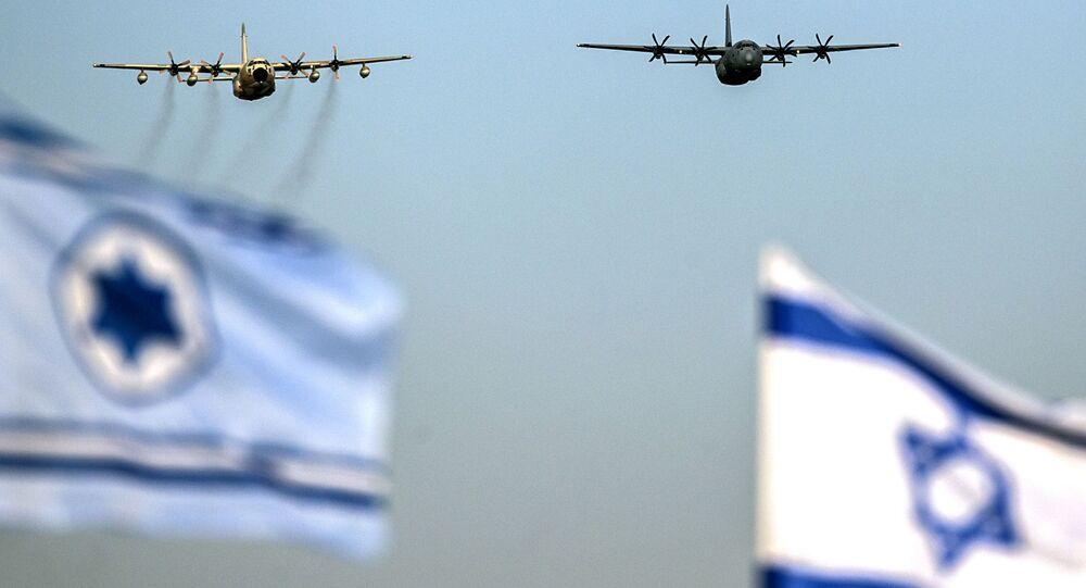 Izraelská letadla C-130 Hercules a C130J Super Hercules