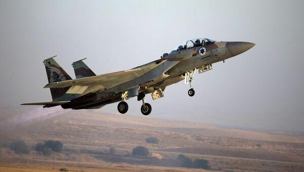 Izraelská stíhačka F-15. Archivní foto - Sputnik Česká republika