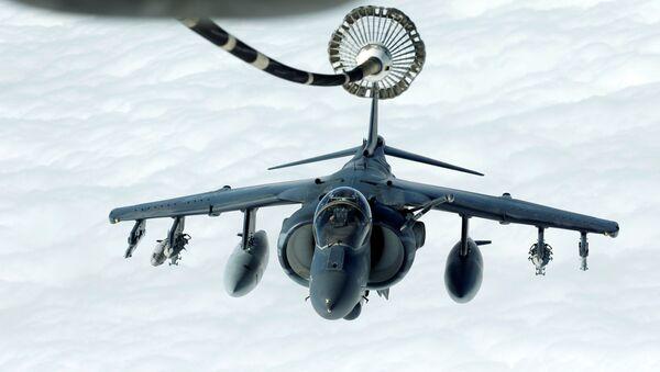 Americké útočné letadlo Harrier AV-8B - Sputnik Česká republika