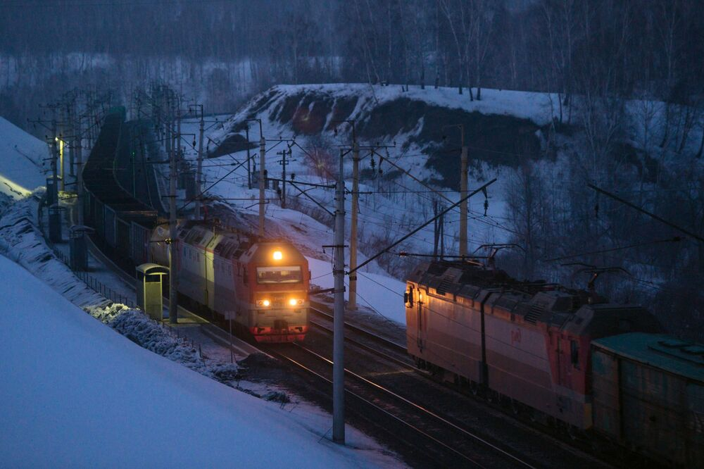 Západně-Sibiřská železnice