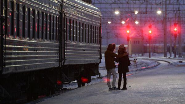 Západně Sibiřská železnice - Sputnik Česká republika