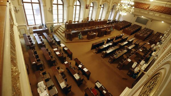Český parlament v Praze - Sputnik Česká republika