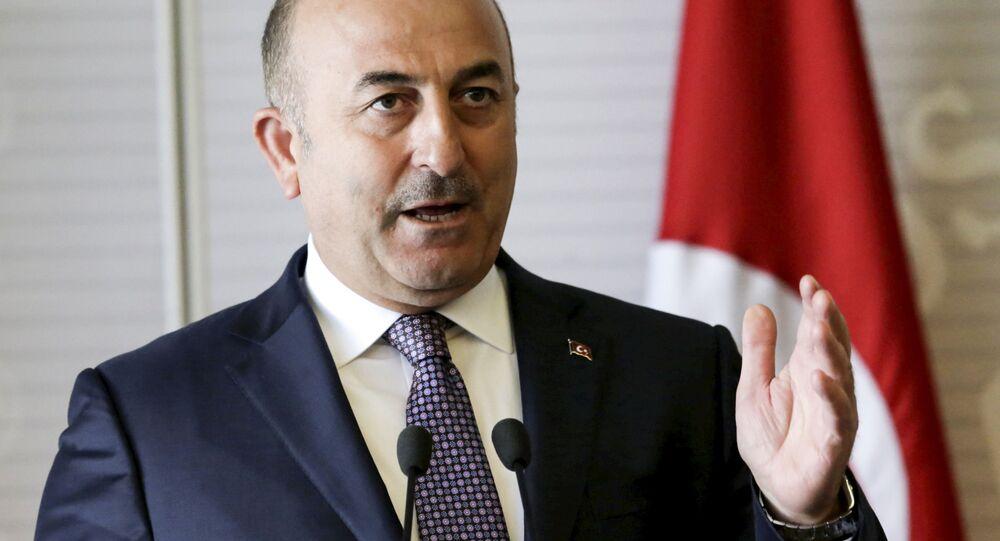 Тurecký ministr zahraničních věcí Mevlüt Çavuşoğlu