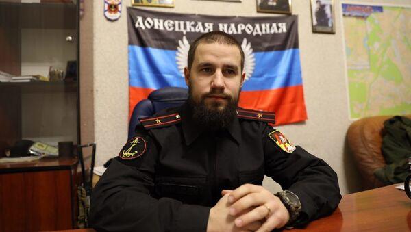 Velitel batalionu Sparta ozbrojených sil DLR Vladimir Žoga - Sputnik Česká republika