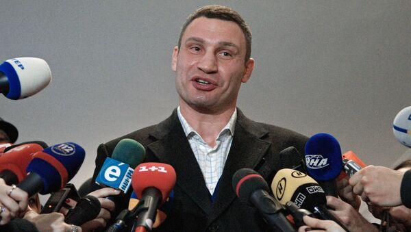 Starosta Kyjeva Vitalij Kličko - Sputnik Česká republika