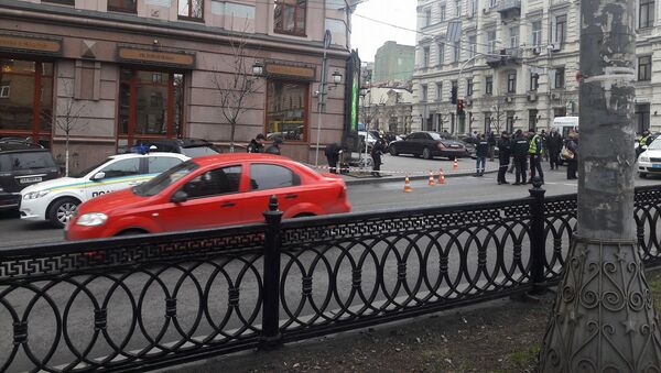 Místo, kde byl zavražděn Děnis Voroňenkov - Sputnik Česká republika