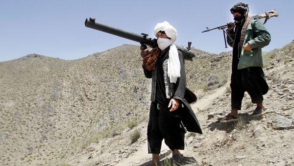 Tálibové se zbraněmi - Sputnik Česká republika