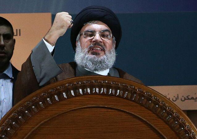 Lídr Hizballáhu Hasan Hasralláh
