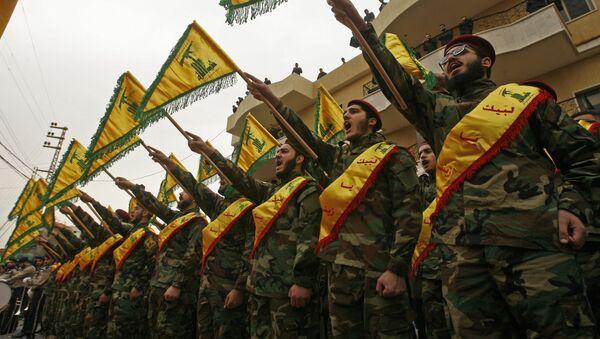Příslušníci hnutí Hizballáh - Sputnik Česká republika