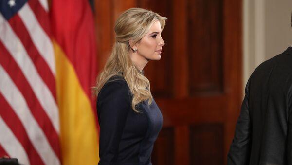 Ivanka Trumpová - Sputnik Česká republika