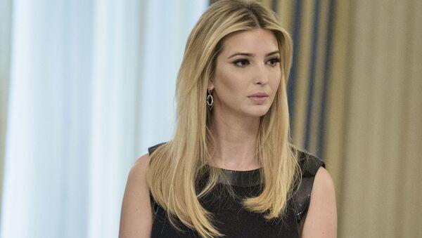 Trumpova dcera Ivanka - Sputnik Česká republika