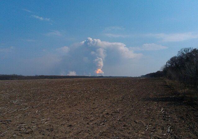 Požár v Balakleji