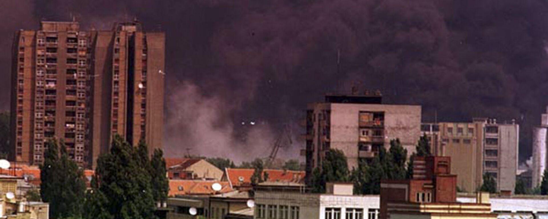 Město Novi Sad za bombardování NATO - Sputnik Česká republika, 1920, 18.05.2021