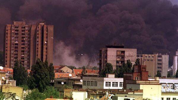 Město Novi Sad za bombardování NATO - Sputnik Česká republika