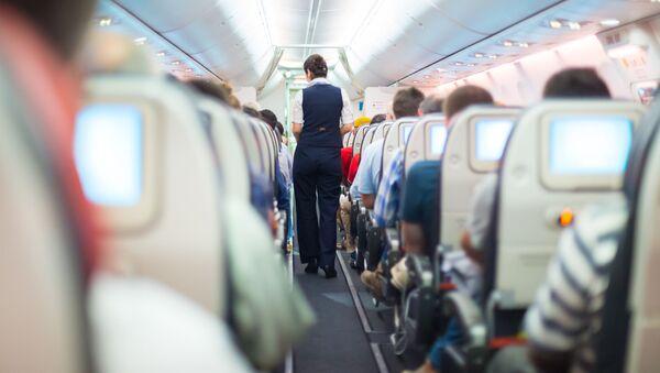 Letuška na palubě letadla - Sputnik Česká republika