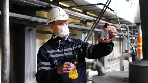 Těžba přírodního uranu  - Sputnik Česká republika