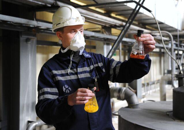 Těžba přírodního uranu