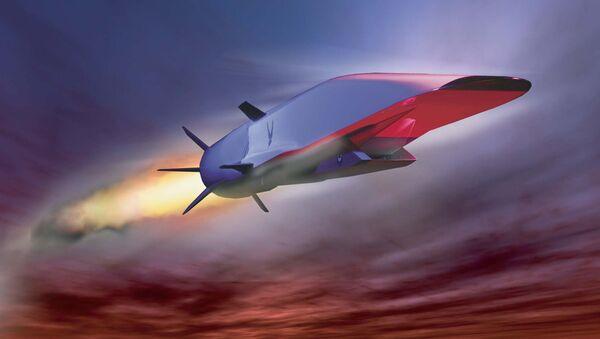 Hypersonická střela X-51A Waverider. Ilustrační foto. - Sputnik Česká republika