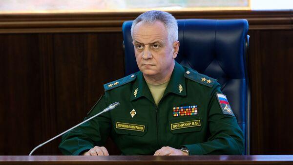 Zástupce náčelníka hlavní operativní správy generálního štábu RF Viktor Poznichir - Sputnik Česká republika