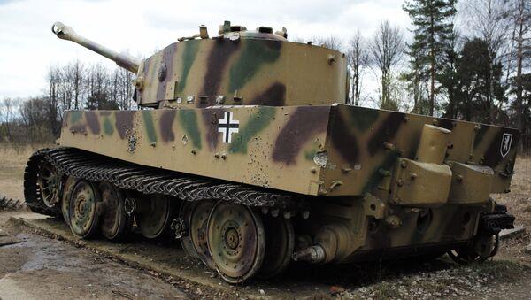 Německý tank T-VI Tygr v muzeu v Moskevské oblasti - Sputnik Česká republika