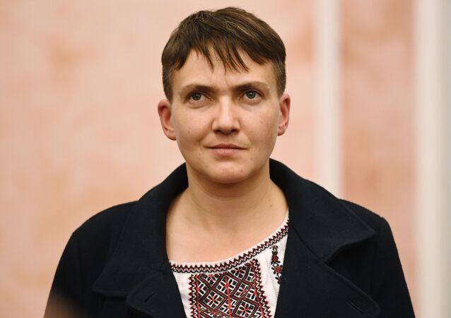 Poslankyně Rady Naděžda Savčenková