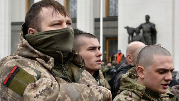 Ukrajinští radikálové - Sputnik Česká republika