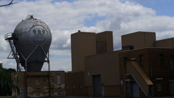 Opuštěný závod Westinghouse - Sputnik Česká republika