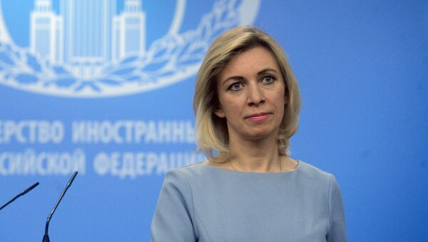 Oficiální zástupkyně MZV Ruska Maria Zacharovová - Sputnik Česká republika