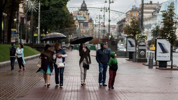 Obyvatelé Kyjeva - Sputnik Česká republika