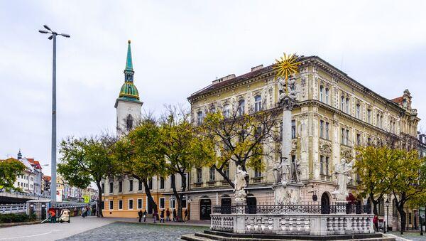 Hlavní náměstí v Bratislavě - Sputnik Česká republika