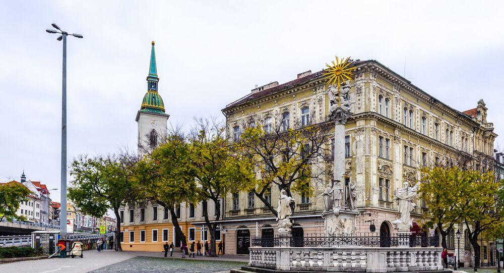 Hlavní náměstí v Bratislavě. Ilustrační foto