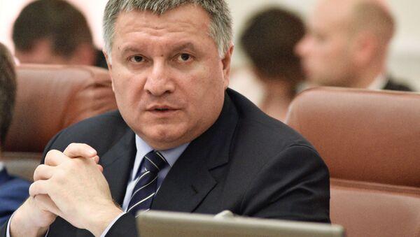 Ukrajinský ministr vnitra Arsen Avakov - Sputnik Česká republika