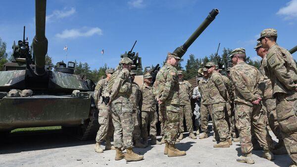 Američtí vojáci během cvičení v Německu - Sputnik Česká republika