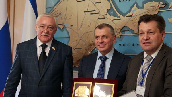 Návštěva německé delegace na Krym - Sputnik Česká republika
