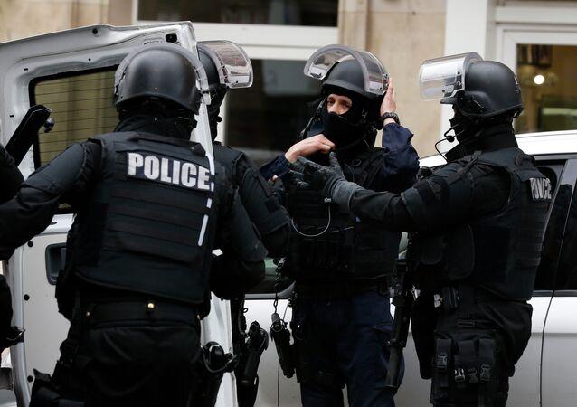 Francouzští policisté. Ilustrační foto