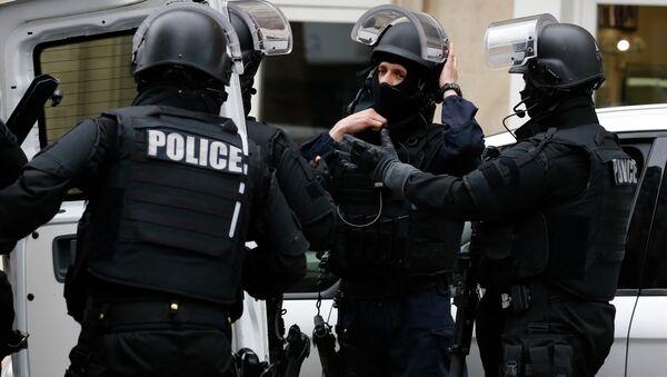 Francouzští policisté. Ilustrační foto - Sputnik Česká republika