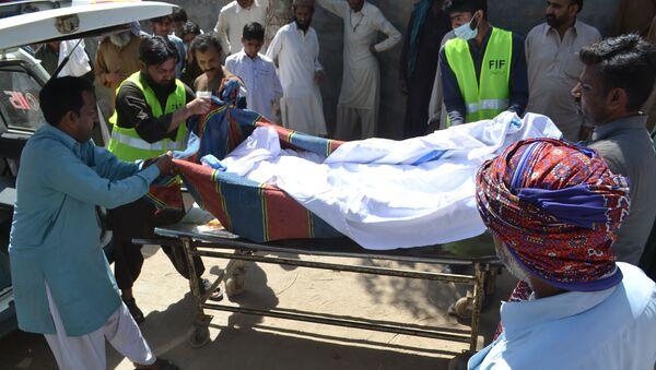 Oběť správce chrámu v pákistánské provincii Pandžáb - Sputnik Česká republika