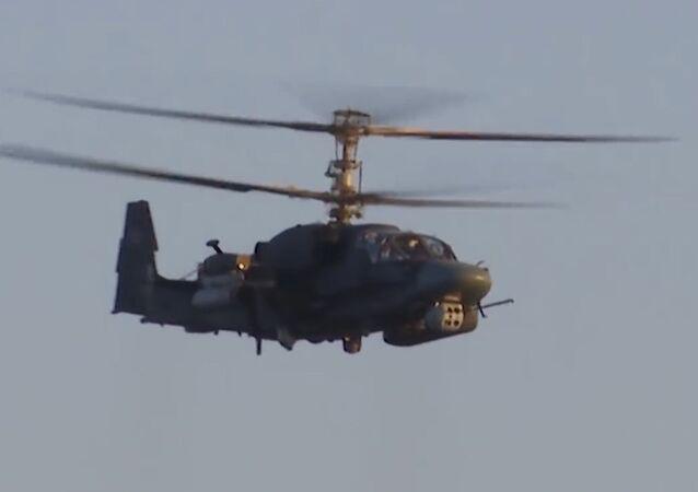 Vrtulník Ka-52K