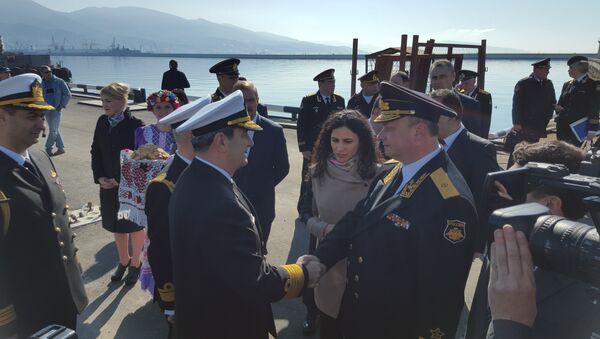 Do Novorossijska připlul oddíl bojových tureckých lodí - Sputnik Česká republika