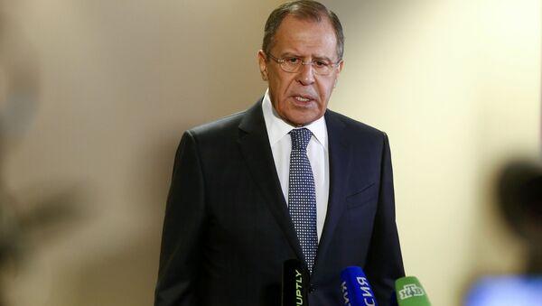 Ministr zahraničí Sergej Lavrov - Sputnik Česká republika