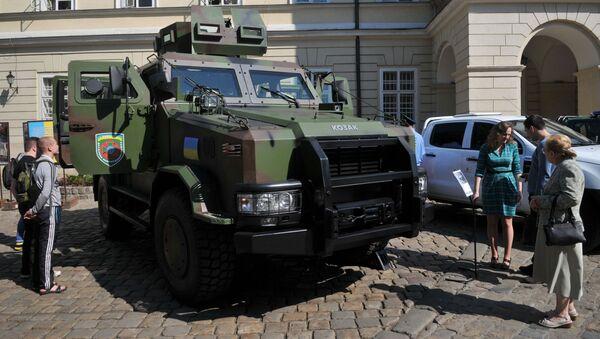 Obrněný vůz Kozak-2 - Sputnik Česká republika