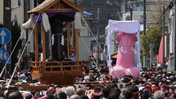 Penis festival v Japonsku - Sputnik Česká republika
