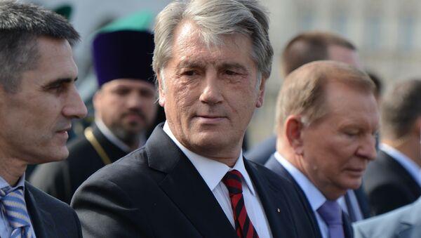 Bývalý ukrajinský prezident Viktor Juščenko - Sputnik Česká republika