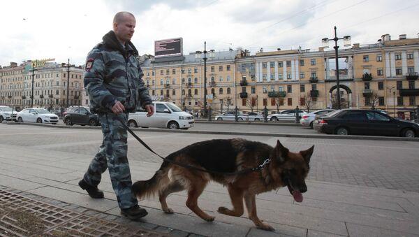 Petrohrad po teroristickém útoku - Sputnik Česká republika