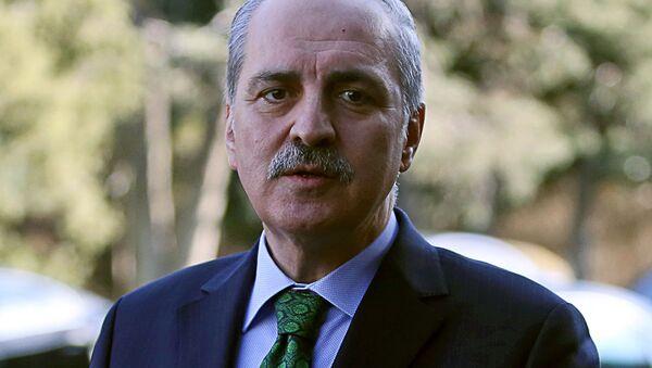 Vice-premiér Turecka Numan Kurtulmuş - Sputnik Česká republika