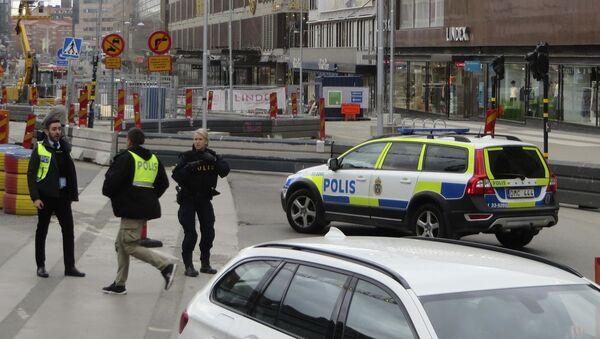 Policie ve Stockholmu - Sputnik Česká republika