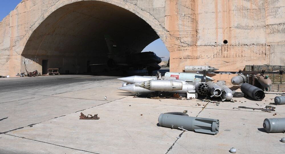 Následky amerického úderu na Sýrii